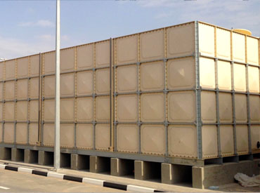 GRP Panel Type Water Tank